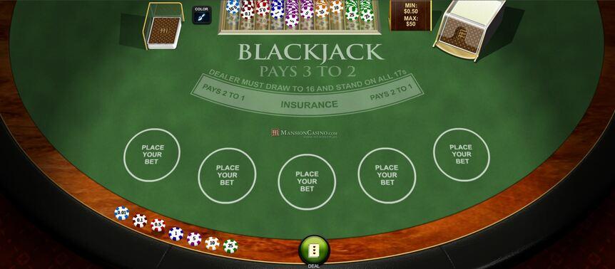 блекджек в казино стратегия